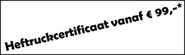certificaat vanaf 99 euro